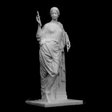 Aphrodite au Pilier at The Louvre, Paris