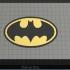 Batman 1989 Logo - Dual Extrude image