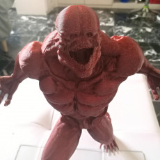Picture of print of Doom 4 creature statue