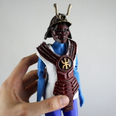 Samurai Upper Body Armour for Articulated Figure - Support Free