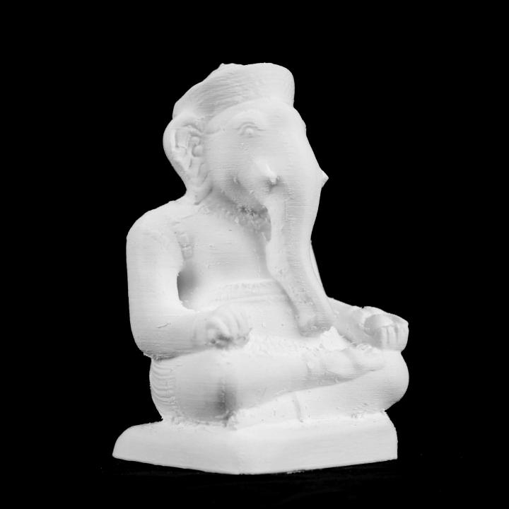 Ganesha at The Réunion des Musées Nationaux, Paris