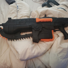 Picture of print of Gears Of War Lancer- CHAINSAW GUN!