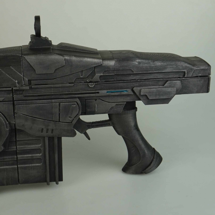 Gears Of War Lancer- CHAINSAW GUN!