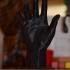 Hand of Adam at The Rodin Museum, Paris print image
