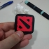 Dota 2 Logo - two pieces press fit image
