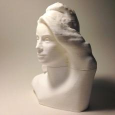 Picture of print of Bust of Marianne (Catherine Deneuve) at The Réunion des Musées Nationaux, Paris