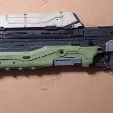 Picture of print of Halo 5 Guardians - Assault Rifle