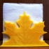 Napkin holder  Leaf fall image