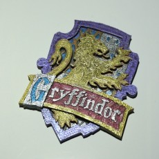 Picture of print of Gryffindor House Badge - Harry Potter