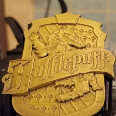 Picture of print of Hufflepuff House Badge - Harry Potter 这个打印已上传 Stefan Banner