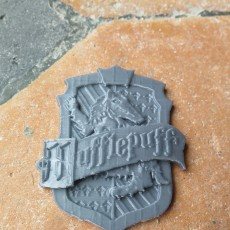 Picture of print of Hufflepuff House Badge - Harry Potter 这个打印已上传 Jasmine R-p