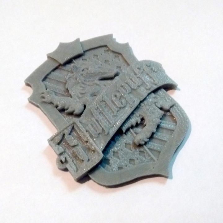Hufflepuff House Badge - Harry Potter