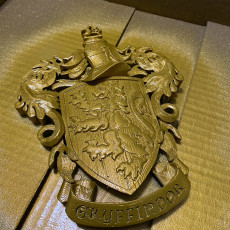 Picture of print of Gryffindor Coat of Arms Wall/Desk Display - Harry Potter