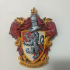 Gryffindor Coat of Arms Wall/Desk Display - Harry Potter print image