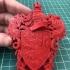 Gryffindor Coat of Arms Wall/Desk Display - Harry Potter print image