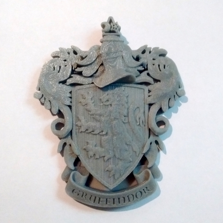 Gryffindor Coat of Arms Wall/Desk Display - Harry Potter
