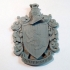 Hufflepuff Coat of Arms Wall/Desk Display - Harry Potter image
