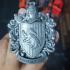 Hufflepuff Coat of Arms Wall/Desk Display - Harry Potter print image