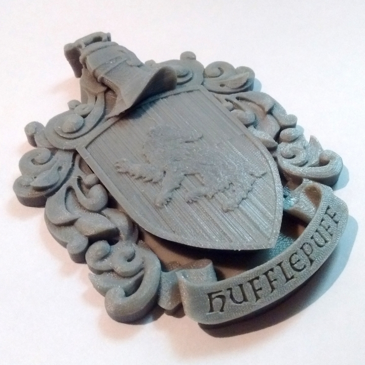 Hufflepuff Coat of Arms Wall/Desk Display - Harry Potter