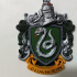 Syltherin Coat of Arms Wall/Desk Display - Harry Potter print image
