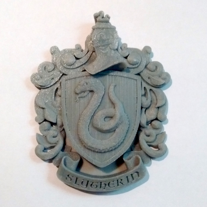 Syltherin Coat of Arms Wall/Desk Display - Harry Potter