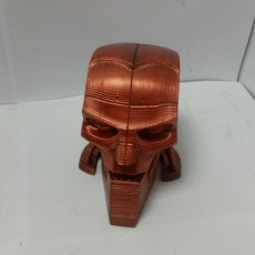 Picture of print of A.B.C. Warrior robot bust (Judge Dredd 1995) Questa stampa è stata caricata da ArcLight3d