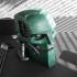 A.B.C. Warrior robot bust (Judge Dredd 1995) print image