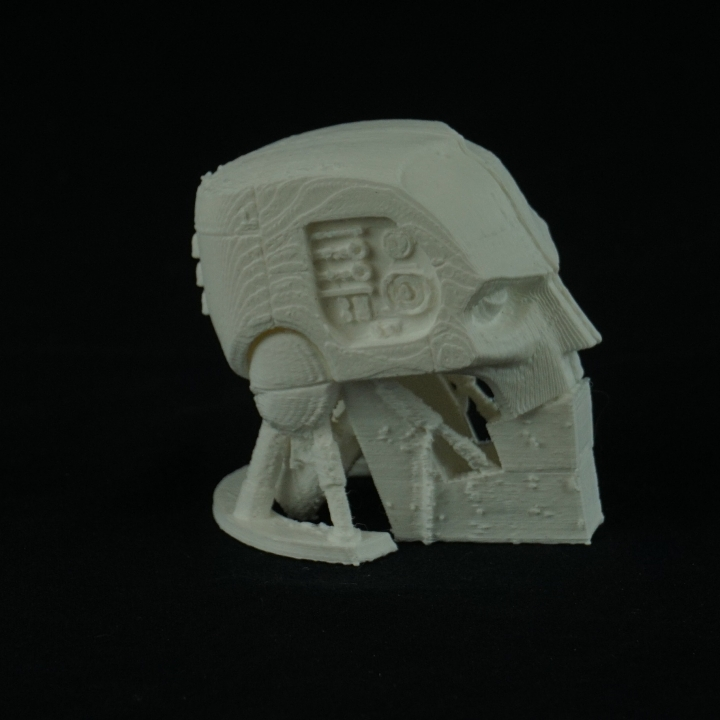 A.B.C. Warrior robot bust (Judge Dredd 1995)