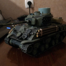 Picture of print of Articulated Tank from Fury
