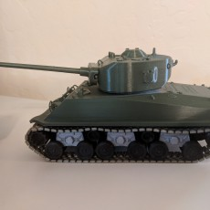 Picture of print of Articulated Tank from Fury 这个打印已上传 Kelly Stephenson