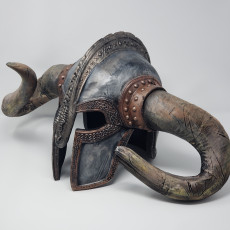 Picture of print of Viking helmet