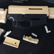 Picture of print of Airsoft Rifle