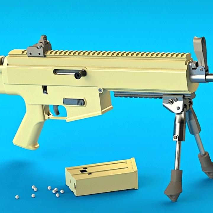 Airsoft Rifle