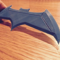 Picture of print of Dawn Of Justice Batarang