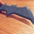 Dawn Of Justice Batarang print image