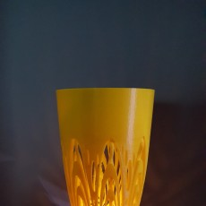 Picture of print of Voronoi Spiral Centerpiece / Vase