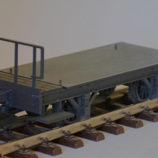 Model Train G-scale chassis