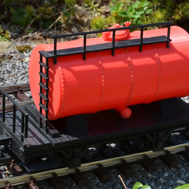 Tank Car for Garden Railway G-scale 45 mm