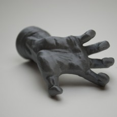 Picture of print of The Mighty Hand at The Musée Rodin, Paris