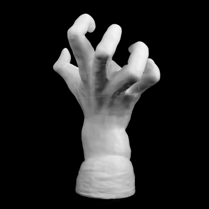 The Mighty Hand at The Musee Rodin, Paris
