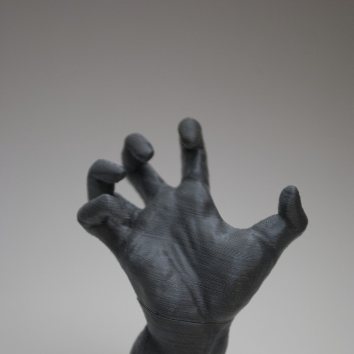 Picture of print of The Mighty Hand at The Musée Rodin, Paris Questa stampa è stata caricata da Nick