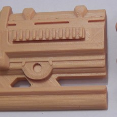 Picture of print of Destiny Exotic Hand Cannon The Jewel Of Osiris, both Legendary and Adept models