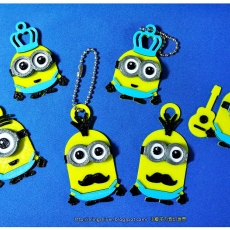 Minions Keychain / Magnets - Father's Day cute version