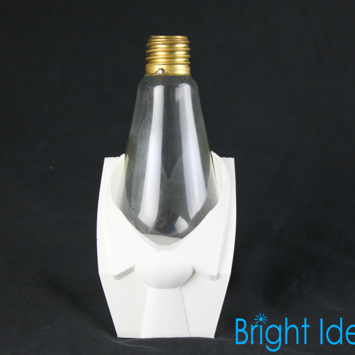Suit and Tie Lightbulb Holder