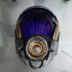 Picture of print of Tali'Zorah nar Rayya mask This print has been uploaded by John Prue