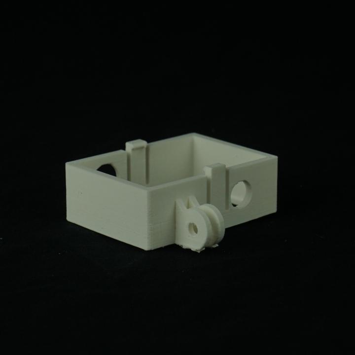 Offset Xiaomi Yi camera mount