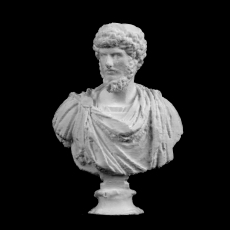 Co-Emperor Lucius Verus at The Royal Ontario Museum, Ontario