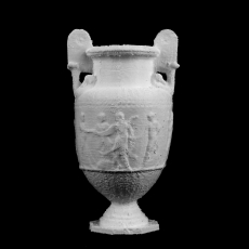 Marble Vase at The Royal Ontario Museum, Ontario