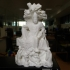 Guanyin on a Dragon Throne at The Royal Ontario Museum, Ontario print image