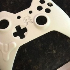 Picture of print of Xbox Destiny Controller Faceplate